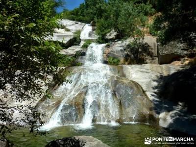 Cascadas de Gavilanes; viajes montaña;senderismo organizado;deporte en madrid